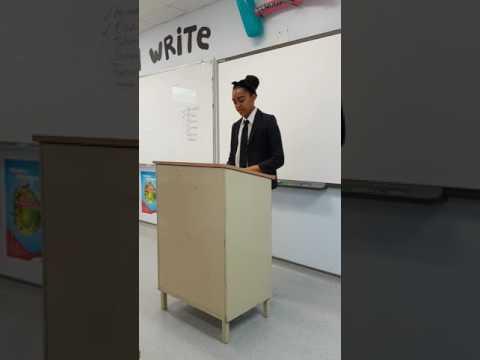 Sanaa's speech
