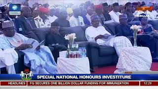 25 Years After, Buhari Honours Late MKO Abiola With Posthumous GCFR Nat'l Award Pt.6