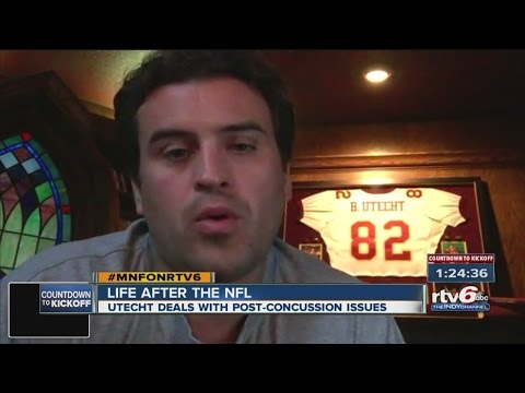 Former Colt Ben Utecht deals with post-concussion issues