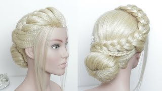 Prom Wedding Updo Tutorial. Easy And Elegant.