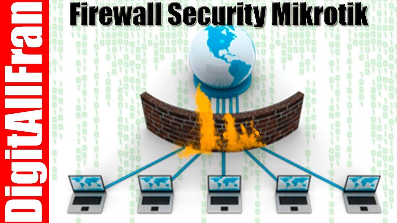 Mikrotik Basic Universal Firewall Script