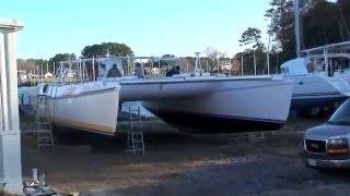 Jaynes Marine Building a Catamaran Video
