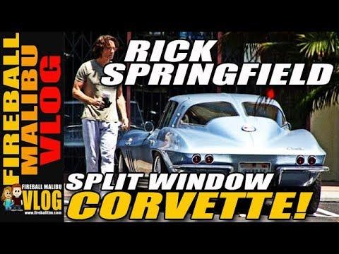 RICK SPRINGFIELD CORVETTE Spotting! - FMV311