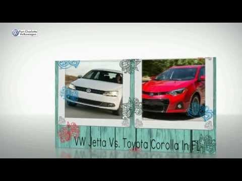 VW Jetta Vs. Toyota Corolla In FL