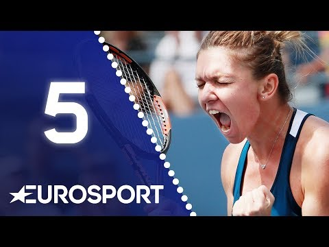 Simona Halep FINALLY Wins a Grand Slam Title! | Day 5: Advent Calendar 2018 | Eurosport