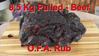 📷 Pulled Beef @ O.F.A. Rub von Klaus grillt | Grill & Chill / BBQ & Lifestyle