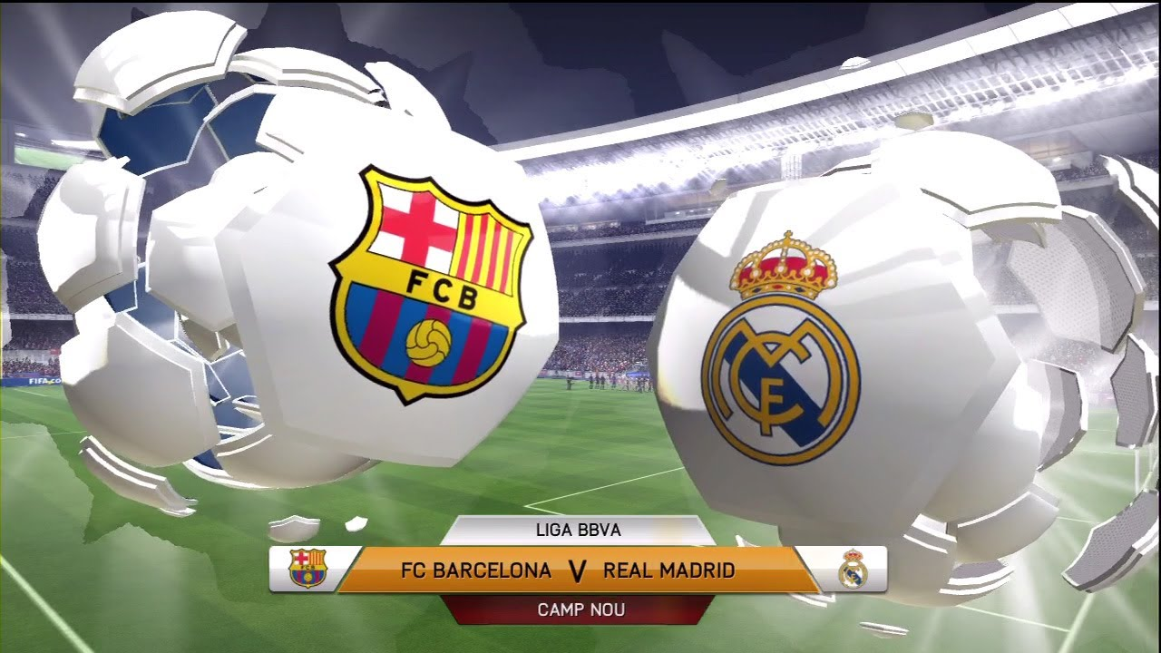 Image result for Barcelona vs Real Madrid pic