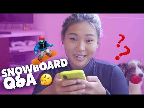Watch: Chloe Kim Answers Snowboard Fans' Burning Questions