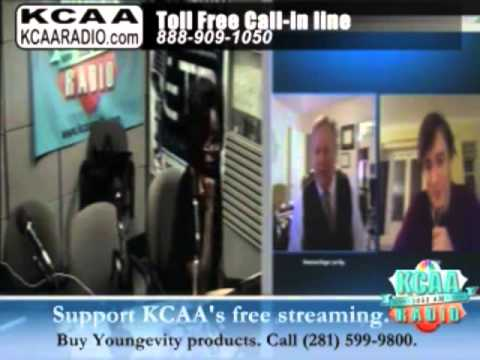 Roseanne Barr - Roseanne Barr KCAA Kathleen Wells Interviews Dr. Roger Ray and Harry Fear 10-20-13