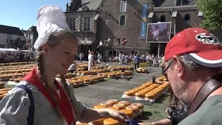 Nederland, Niederlande - Alkmaar 2017 - Käsemarkt