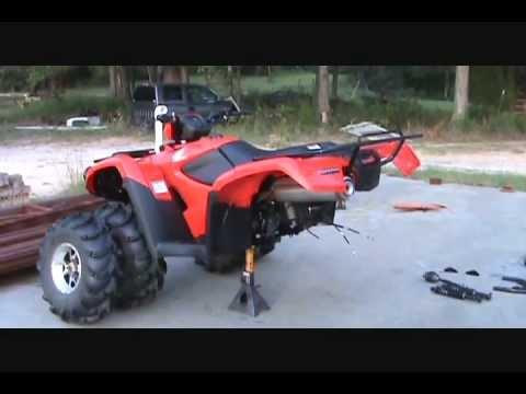 Honda foreman S 2012 irs conversion