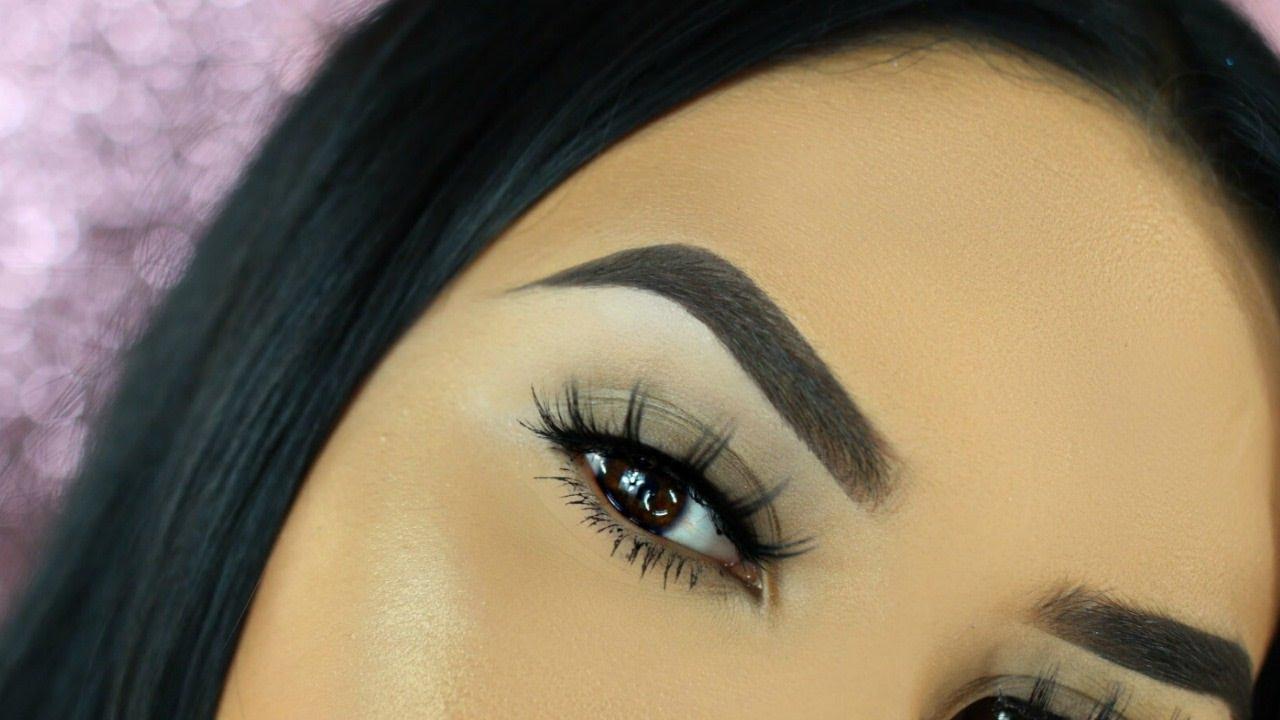 Easy Eyebrow Tutorial For Beginners - YouTube