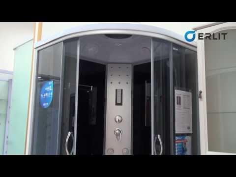 Обзор душевых кабин Erlit™ ER 4510TP-C3 и 4510TP-C4
