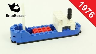 Lego - Back To History - 616 Cargo Ship - 1976 - BrickBuilder
