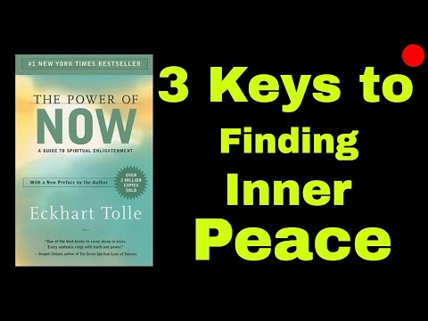 """How to Find Inner Peace - Actionable strategies from the book """"Power of Now"""" by Eckhart Tolle"""