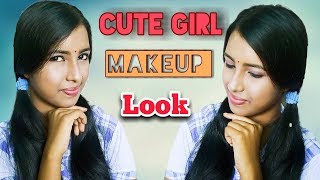 How To Do A Cute Makeup Look ||  2018 Special ||  HD 720pix❤❤