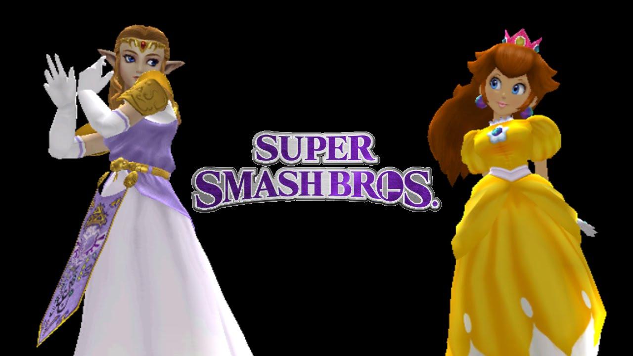 Super Smash Bros Project M Choreographed Zelda Versus
