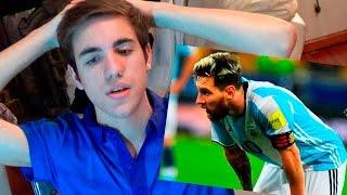 REACCIONES DE UN HINCHA Argentina vs Brasil 2016 0-3 - Eliminatorias Rusia 2018