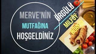 Örgülü Milföy Börek Tarifi -Pratik Ara Sıcak 10 Dakikada Hazır #merveninmutfağı