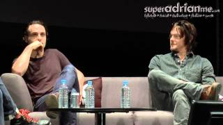 Video Andrew Lincoln & Norman Reedus Funny Moments in Singapore 00 07 51 00 08 08 download MP3, 3GP, MP4, WEBM, AVI, FLV Juli 2018