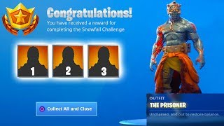 STAGE 3 KEY LOCATION FOUND! The Prisoner Skin Stage 3 How To UNLOCK! (Fortnite Battle Royale)