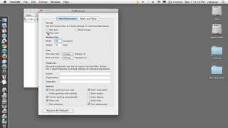 setup textedit to work on html Mac