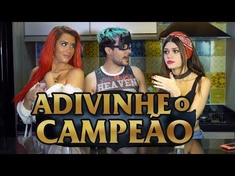 Adivinhe o Campeão pela frase (feat. Queen e Caju)