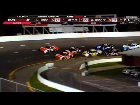 NASCAR Pinty's Series 2019. Riverside International Speedway. Final Laps Battle for Win