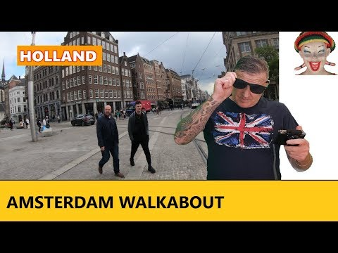 Amsterdam Centraal Station to Dam Square