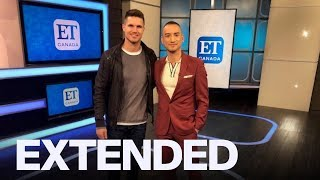 Robbie Amell Talks 'Code 8', Becoming A New Dad | EXTENDED