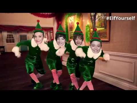 Stranger things cast dancing as elf's