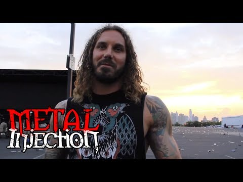 A Day In The Life of AS I LAY DYING on Mayhem Fest 2012 on Metal Injection