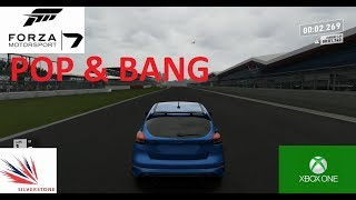 Forza Motorsport 7-Ford Focus RS-Popping and banging