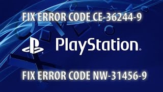 How to fix PS4 / Pro Error CE-39244-9 - Playstation Tutorial - ZanyGeek