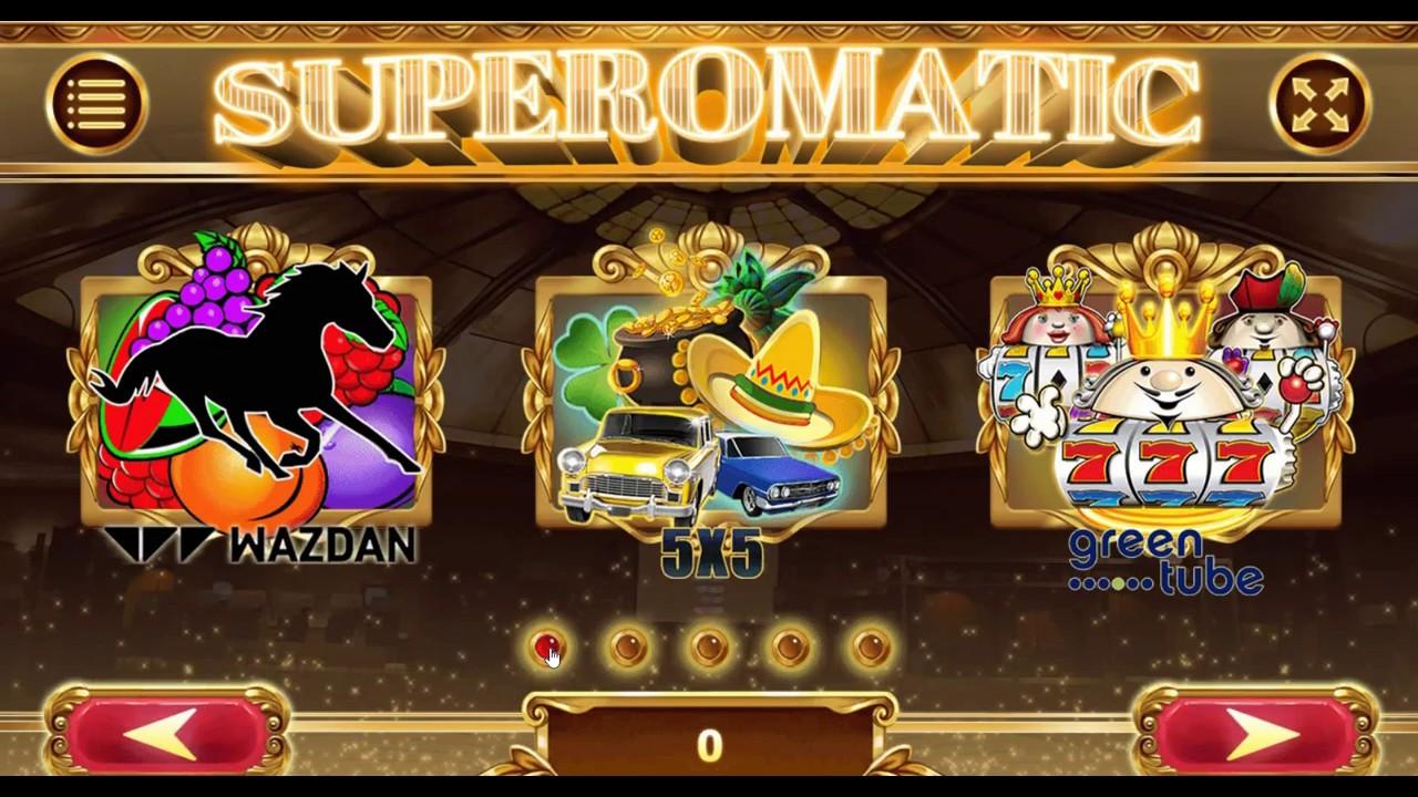 супероматик казино играть бесплатно