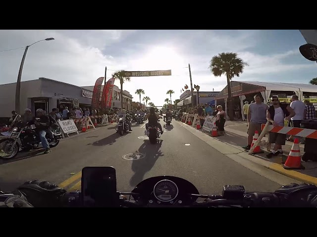 Daytona Beach Bike Week 2019 Cruise
