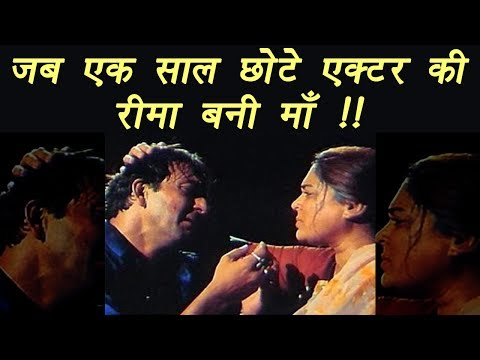 Reema Lagoo was just ONE YEAR older than Sanjay Dutt, still played his mother | FilmiBeat