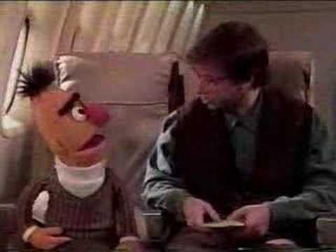 Sesame Street  Rick Moranis and Bert