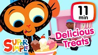 The Super Simple Show - Delicious Treats | Cartoons For Kids