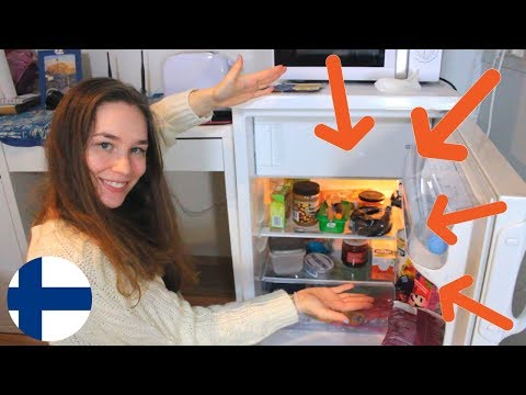 Learn Finnish: Food Vocab   What's In My Fridge?   Video In FINNISH