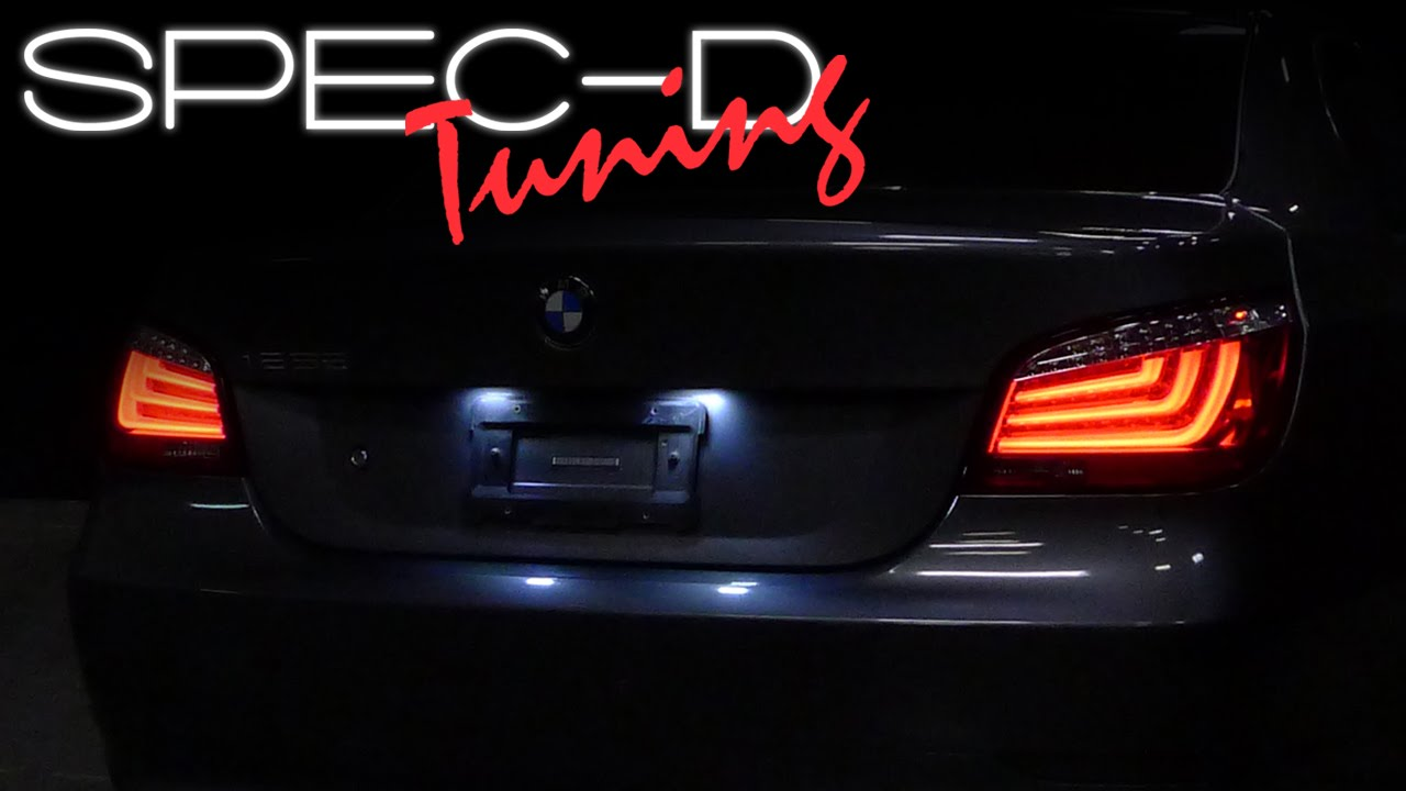 Specdtuning Installation Video 2004 2007 Bmw E60 5 Series