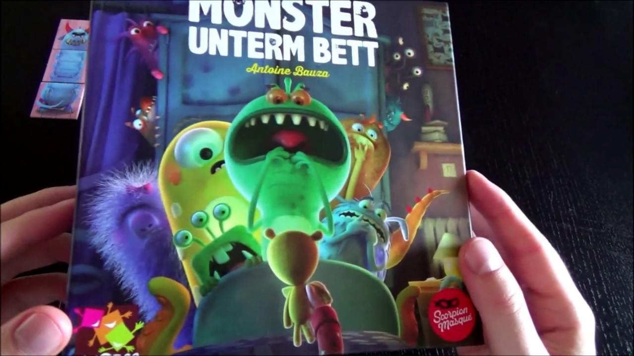 Monster unterm Bett  Brettspieltest  YouTube