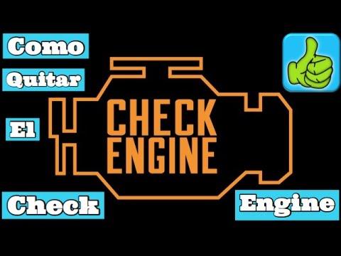 Como quitar la luz del check engine sin scanner fácil y ...