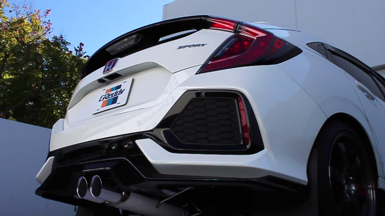 Greddy Supreme Sp Exhaust Honda Fk Civic Sport Turbo