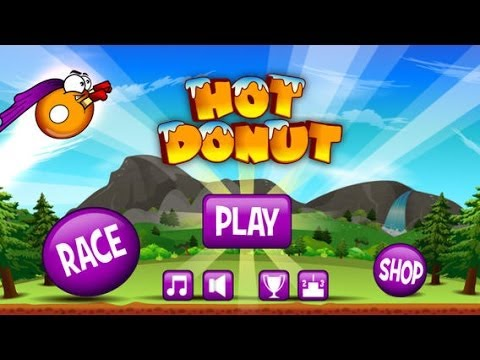 Hot Donut Android & iOS GamePlay Trailer (HD)