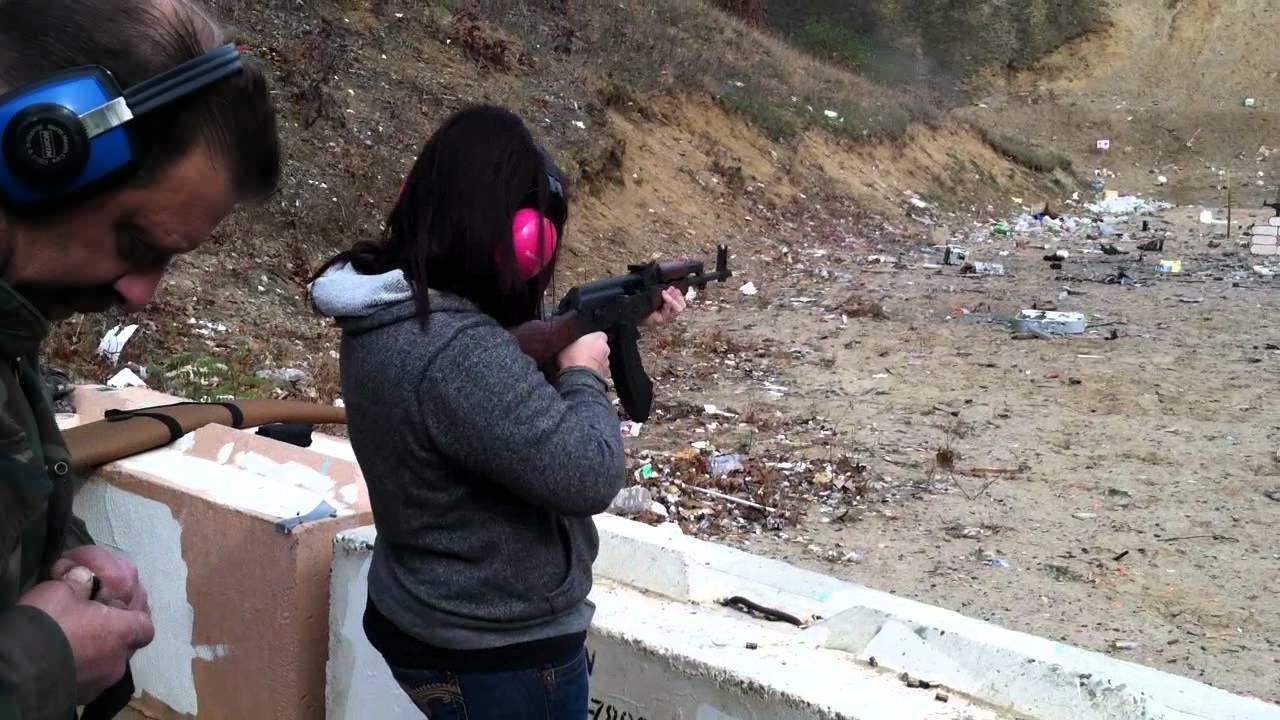 Pin on Girls with guns