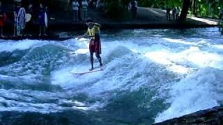 Crazy River Surfing