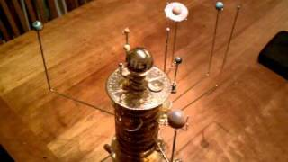 Build a Model Solar System orrery in action