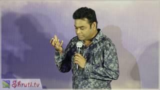 A.R. Rahman speech at Kaatru Veliyidai Audio Launch