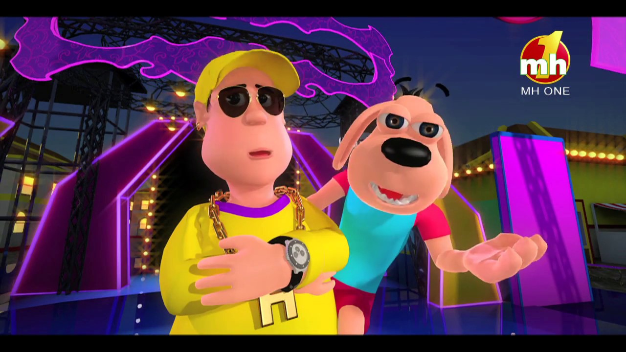 Download Bhow Bhow Karke | Latest Song | Happy Sheru | Funny Cartoon Animation | MH ONE Music